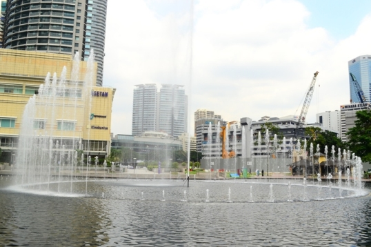 KLCC Park Water Fountain