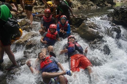 Body Rafting begin!