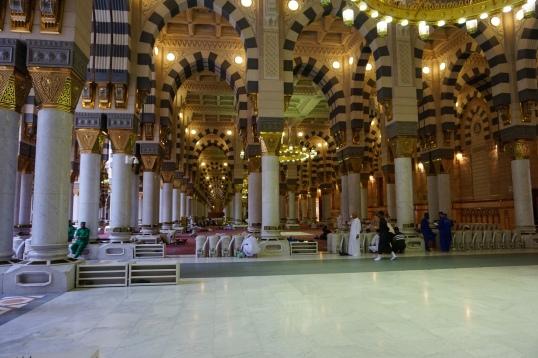 Sudut Masjid Nabawi