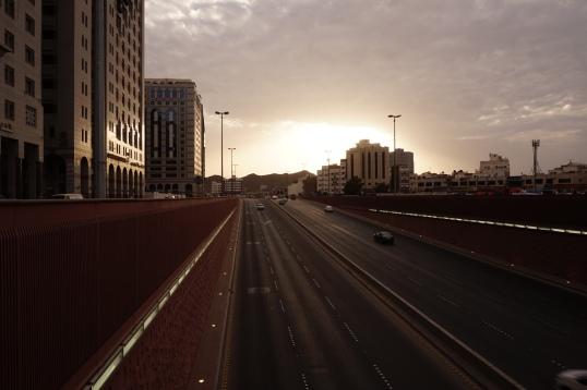 Senja di kota Madinah