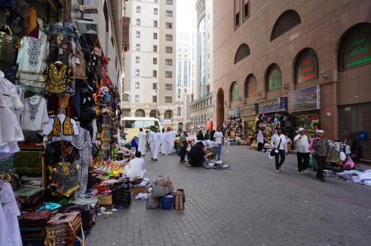 Pasar Jalanan di Madinah